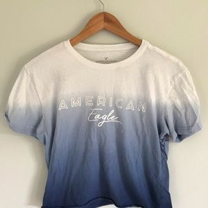 cropped american eagle top